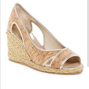 Donald Pliner Coraa Cork Espadrille Wedge Sandals